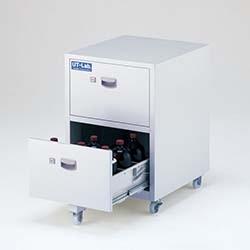AS ONE 亚速旺 SP1-UTC 钢制安全柜 (带滚轮)薬品保管ユニット CABINET 2-709-01