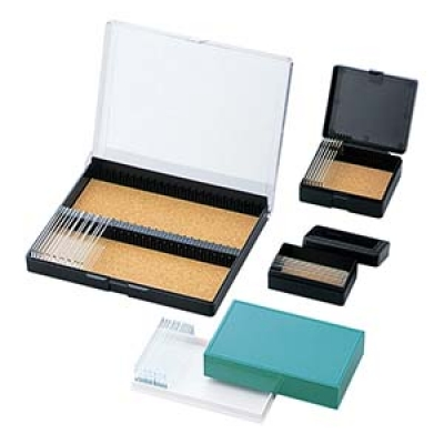 AS ONE 亚速旺 P-12 载玻片盒 (塑料制)プレパラートボックス CASE 1-4615-01